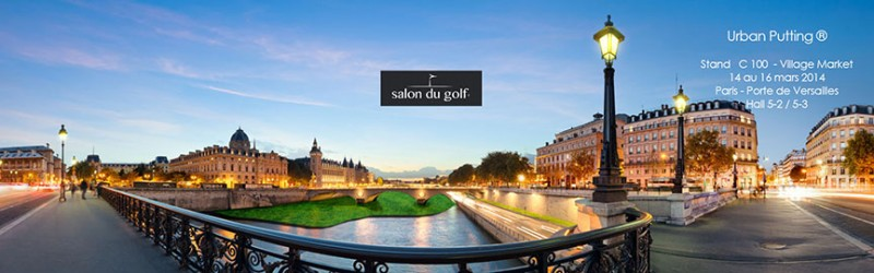 Affiche salon du golf 2014 - Urban Putting réduite