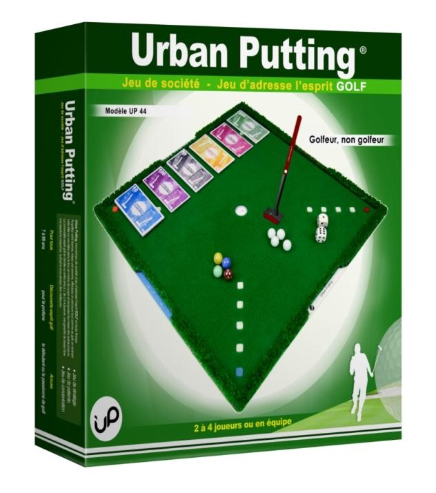 UP44 green box Urban Putting